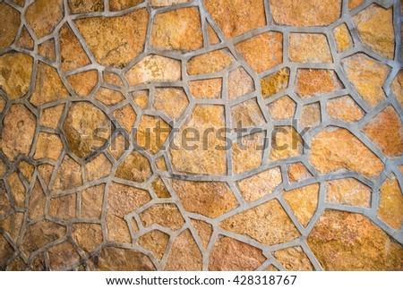 stone paving texture - stock photo