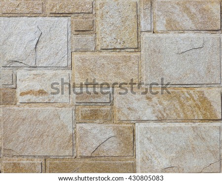 Stone paving texture. Abstract pavement background. - stock photo