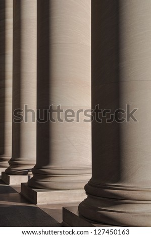 Stone Pillars - stock photo