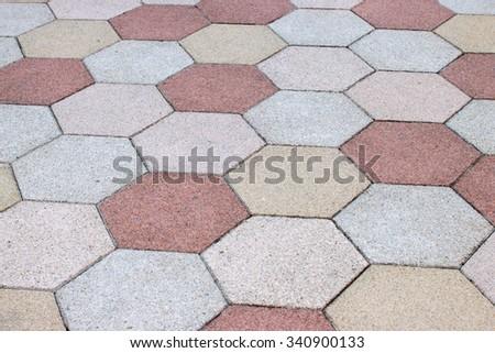 Stone seamless - stock photo