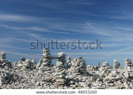 Stone Stack - stock photo