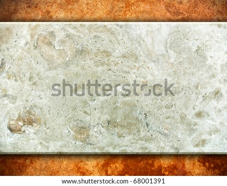 stone tablet background - stock photo