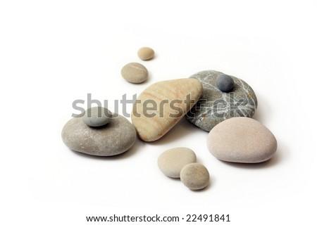 stones - stock photo