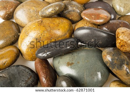 Stones Background - stock photo