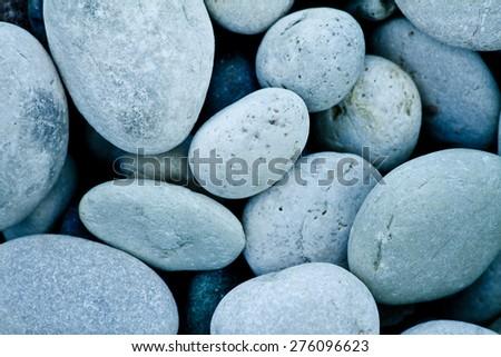 Stones on the seaside - stock photo