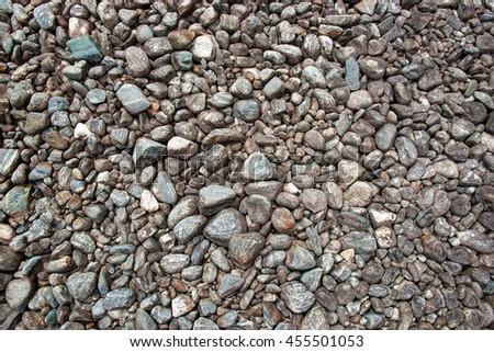 Stones pebble background.  - stock photo
