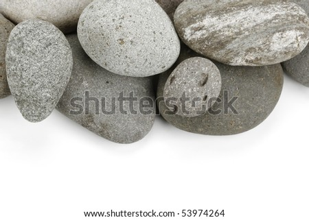 Stones texture for use as background - stock photo