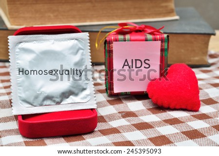 Stop aids hiv  - stock photo