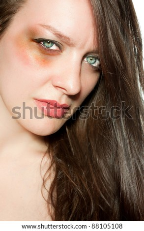 Stop domestic violence - stock photo