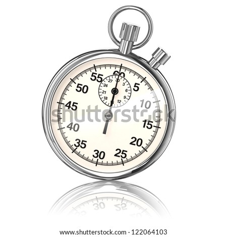 Stopwatch - stock photo