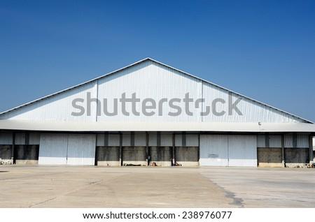 Storage Warehouse of a Factory / Storage Warehouse  - stock photo