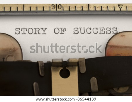story of success - stock photo