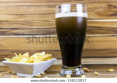 Stout Beer - stock photo