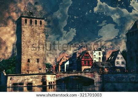 Strasbourg - stock photo