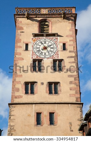 Strassbourg, main town of the Alsace region, France - stock photo
