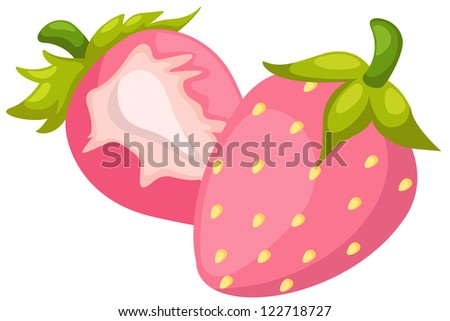 strawberries.JPG (EPS vector version id 121524577,format also available in my portfolio) - stock photo