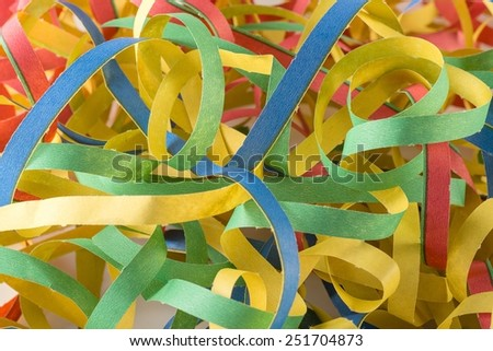 streamers , Carnival  - stock photo