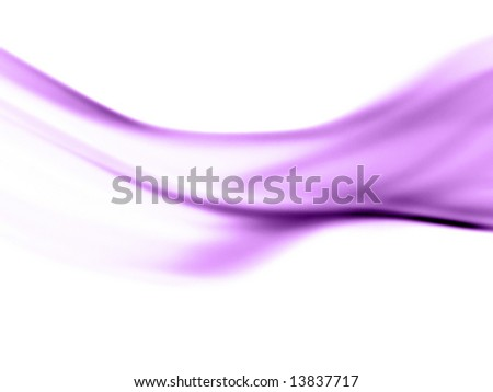Streamline Abstract - stock photo