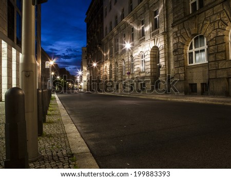 street - stock photo