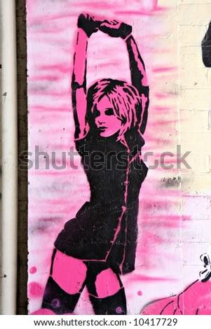 Street Art - stock photo