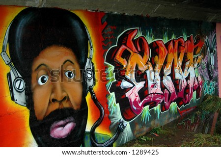 Street Art 2 - stock photo