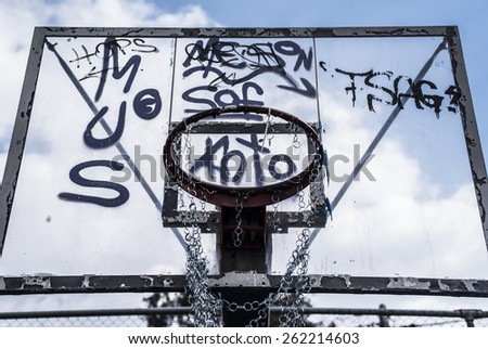 street basket 3 - stock photo