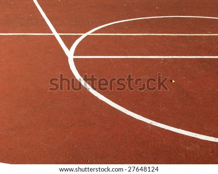 Street basketball. Curves. Abstract background. - stock photo