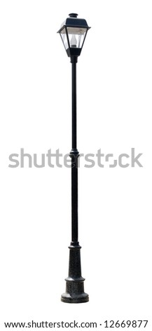 street lantern - stock photo