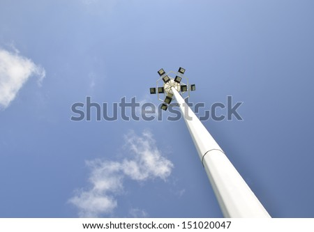 Street lights - stock photo