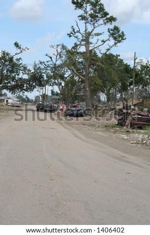 street scene - stock photo
