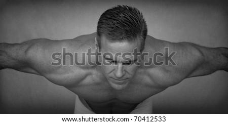 Stretch - stock photo