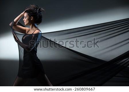 Stretch mesh - stock photo