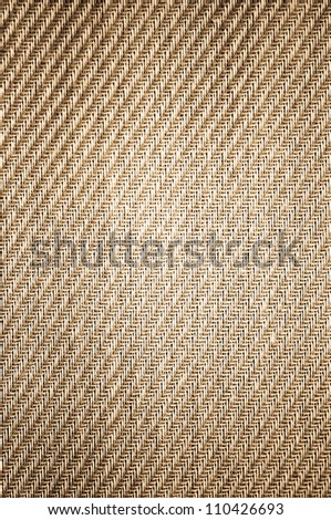 Striated gray denim material background - stock photo