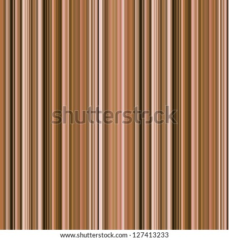Striped abstract background in beige and brown - stock photo