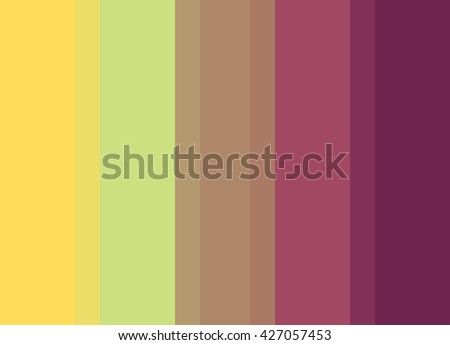 Striped Background in bright gold/green/bronze/magenta/wine, vertical stripes, color palette background  - stock photo