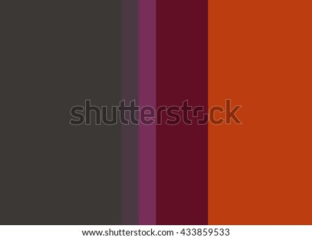 Striped Background in charcoal gray/magenta/wine/deep orange, vertical stripes, color palette background  - stock photo
