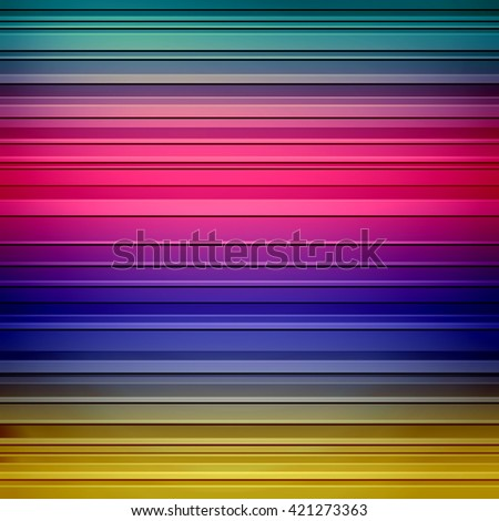 striped background pattern in pretty color blend of pink purple yellow and blue green gradient  - stock photo