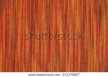 Striped crisp colorful fabric - stock photo