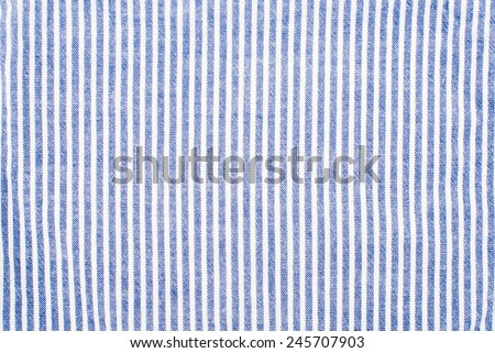 Striped fabric, blue textureStriped fabric, blue texture - stock photo