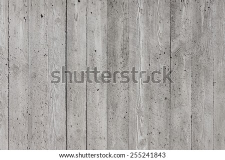 Striped gray concrete wall background texture - stock photo