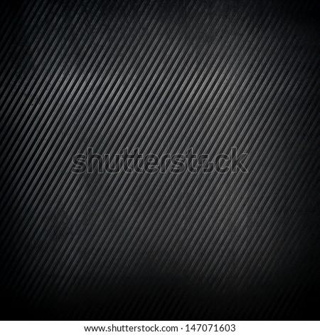 striped metal background - stock photo