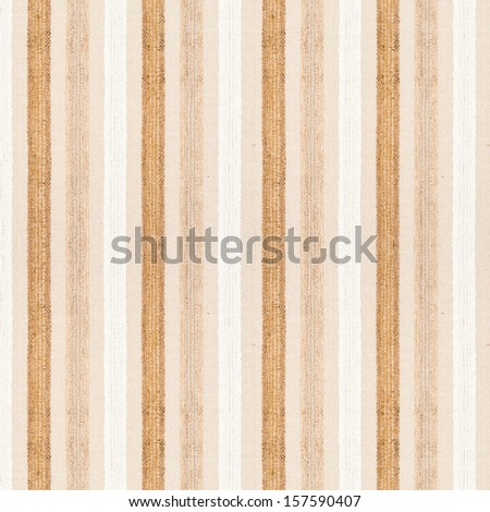 Striped textile fabric material texture background closeup - stock photo