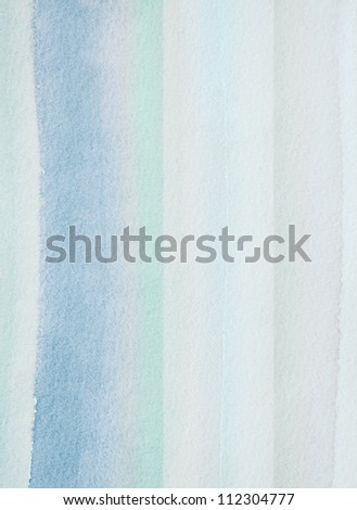Striped watercolor background - stock photo