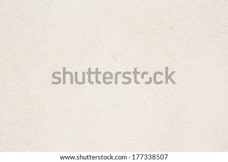Stucco Wall - Off white stucco textured wall. - stock photo