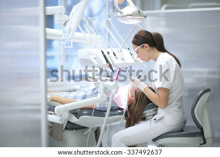 Student dental care - stock photo