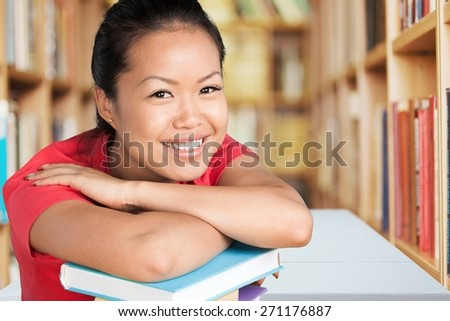 Student. Portrait of college student - stock photo