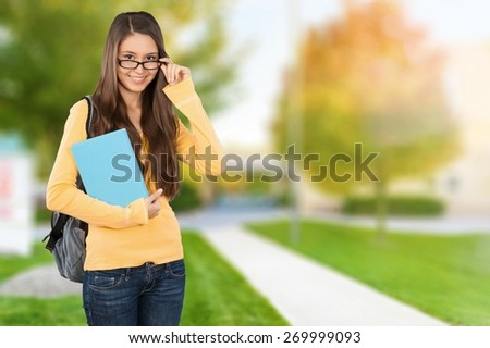 Student, University, College Student. - stock photo