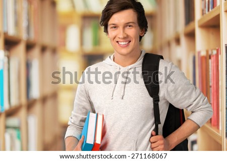 Student. Young Student - stock photo