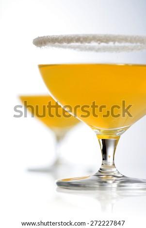 Studio shot of margarita drink - stock photo