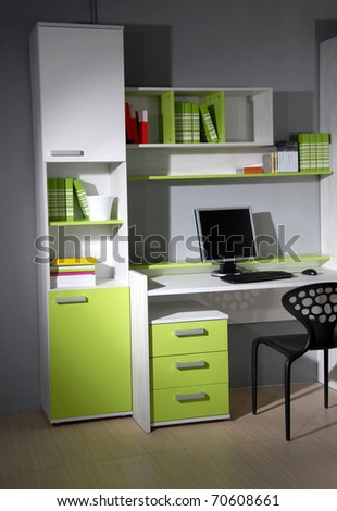 Studio shot of room - stock photo